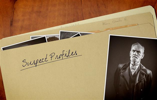 suspect profile folder from the Budapest Express escape game