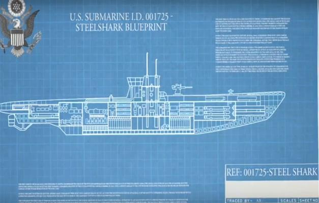 Submarine blueprint