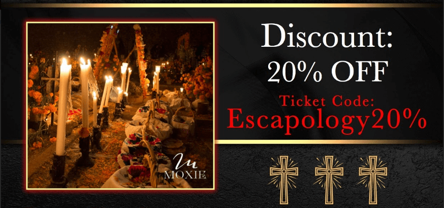 Discount ticket for Dia de los Muertos event