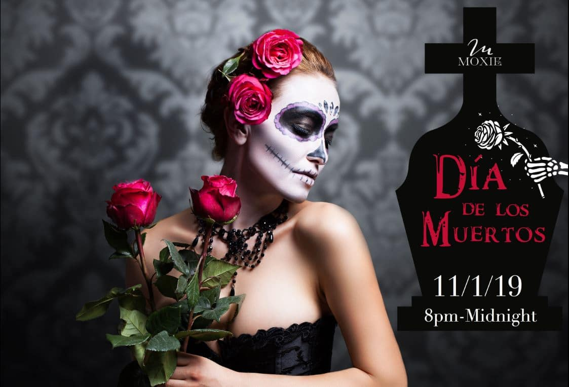 Ad for Dia de los Muertos event November 1, 2019